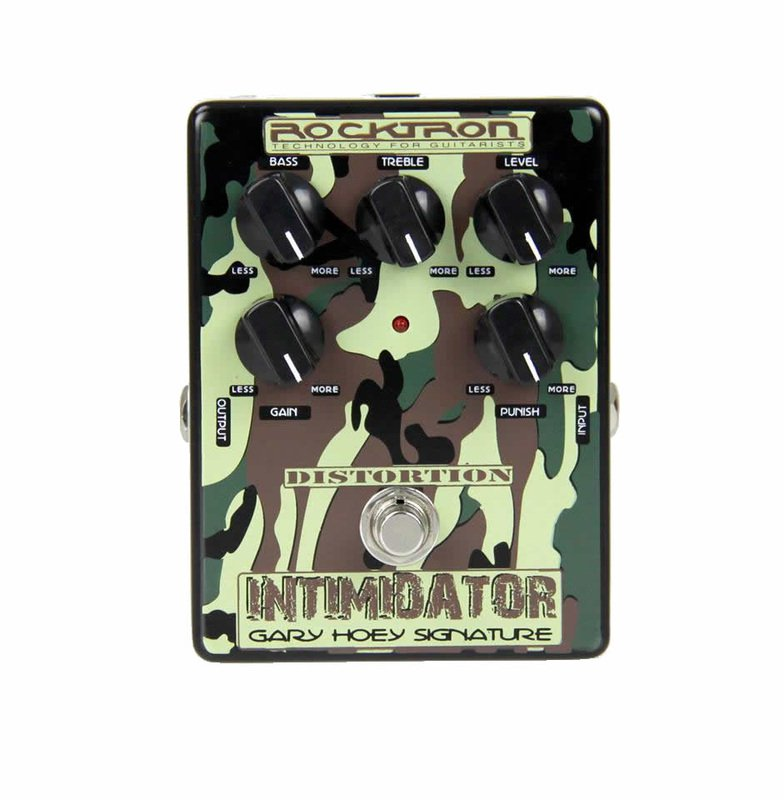 ROCKTRON / Gary Hoey Intimidator Distortion/педаль дисторшн