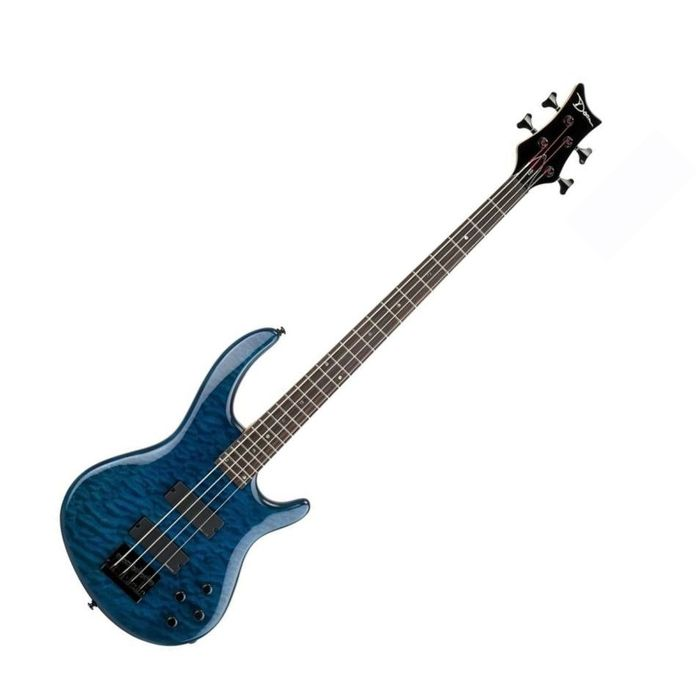 DEAN / EQ4 TBL/Edge Q4 Bass Trans Blue